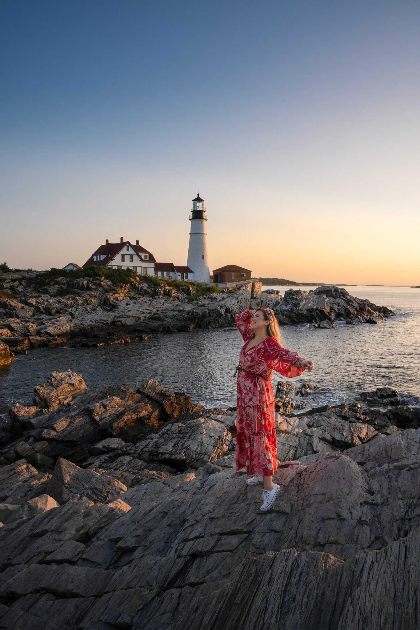 Sunrise at Portland Head Light | Fort Willaims Park | Best Things to Do in Portland Maine | 2 Days in Portland Maine | 48 Hours in Portland Maine | The Perfect Weekend in Maine | Explore Portland, ME | Weekend in Portland, ME | Portland Travel Guide | Things to Do & Where to Stay | Top Things to do in Portland