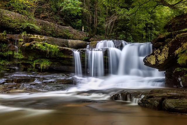 Dunlop Creek Falls