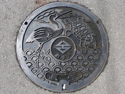 Chosei Chiba, manhole cover (千葉県長生村のマンホール)