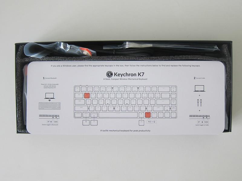 Keychron K7 - Box Open