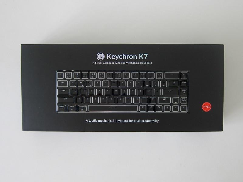 Keychron K7 - Box Front