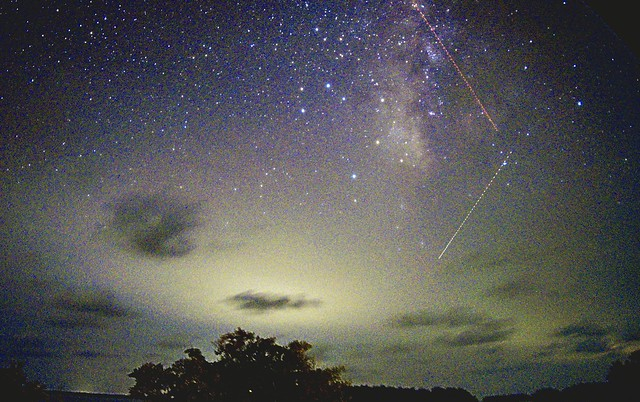 Milky Way over the Everglades this weekend