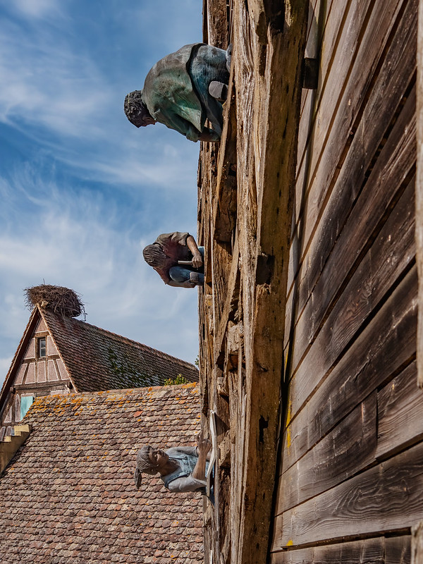 La Cour des Charpentiers de l'Ecomusée d'Alsace... 51461569638_147af6de85_c