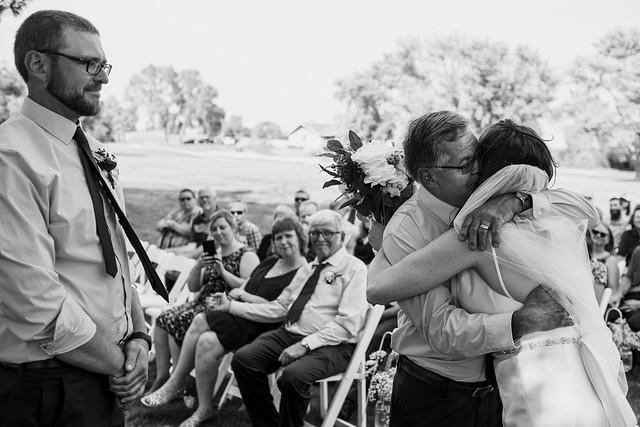 GIVING THE BRIDE AWAY