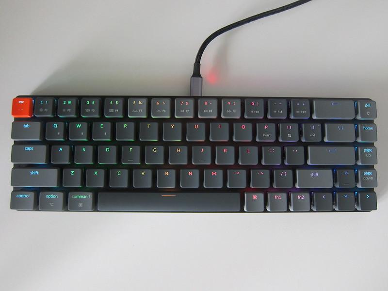 Keychron K7 - Plugged In