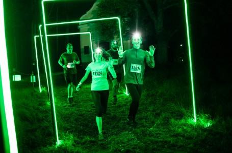 Noční Boletice zakončily běžeckou lesáckou sezonu s více než tisícovkou běžců