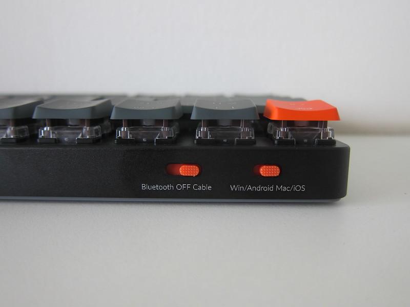 Keychron K7 - Top - Switches