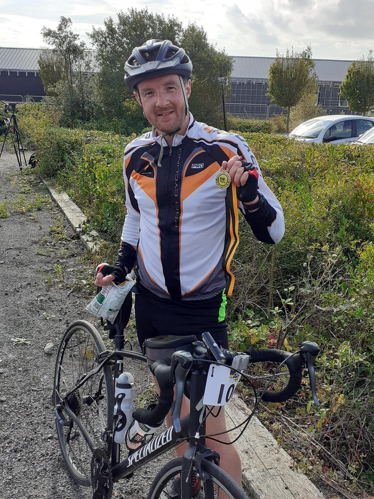 East Kent KM Big Bike Ride 2021 Starting Line