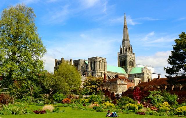 Chichester Cathedral Gardens
