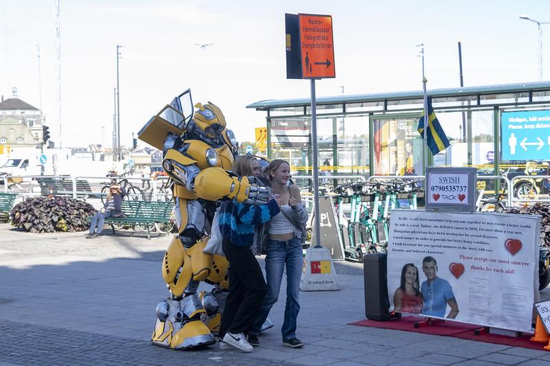 Hug a Transformer...