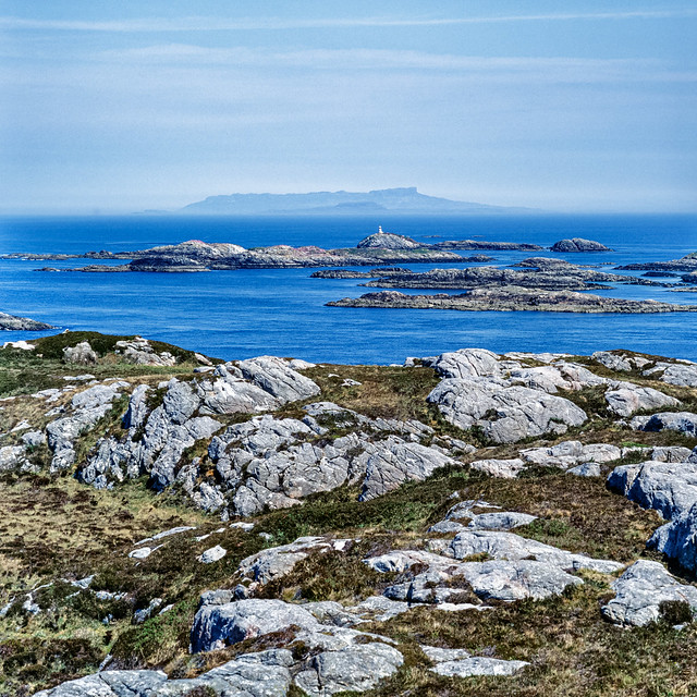 Eigg and Muck from Coll