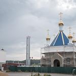 13 сентября 2021, Молебное пение на благополучное завершение строительства и закладка камня в алтаре с мощами в храме в честь св. Симеона Тверского (Тверь)
