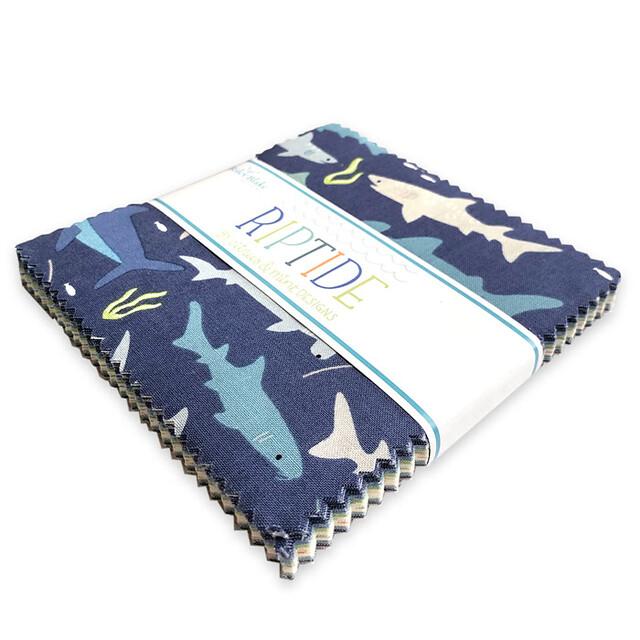 Riley Blake Designs / Riptide / 5in Squares 42pcs / チャームパック