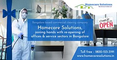 Bangalore-based commercial cleaning company