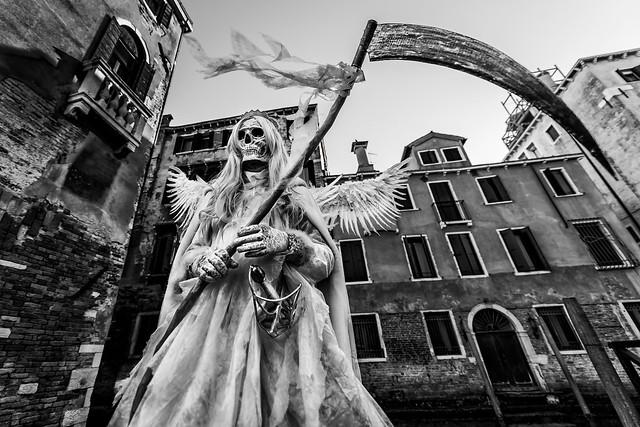 Grim Reaper in Venice