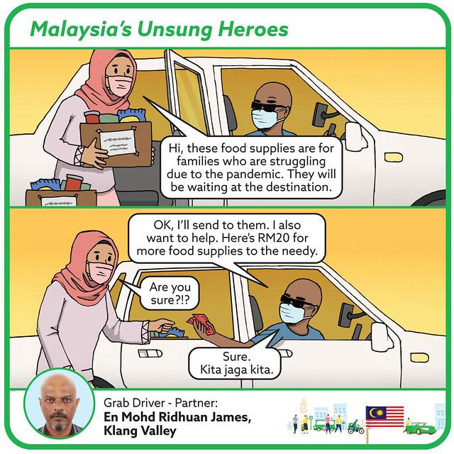 Mohd Ridhuan James, Grab Driver-Partner