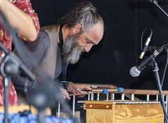 Un músico al xilófono