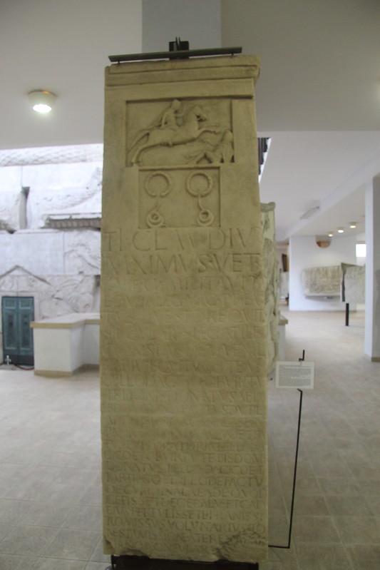 Funerary Monument of Ti. Claudius Maximus (Replica)