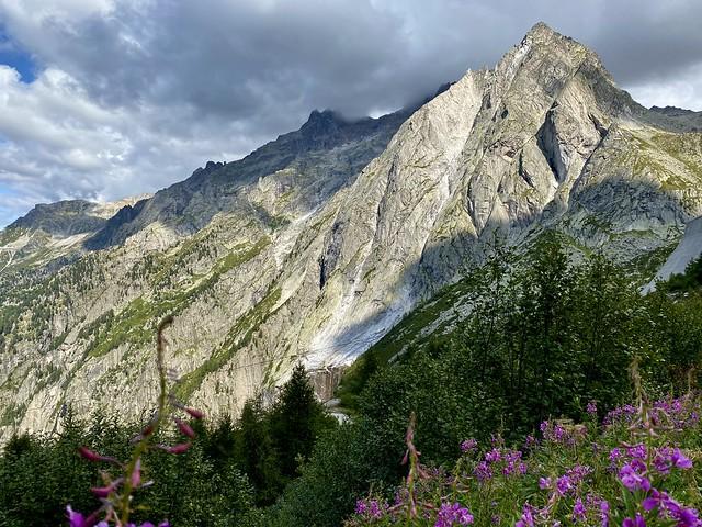 Piz Balzet (2869 m), Bregaglia Alps, Graubünden, Switzerland