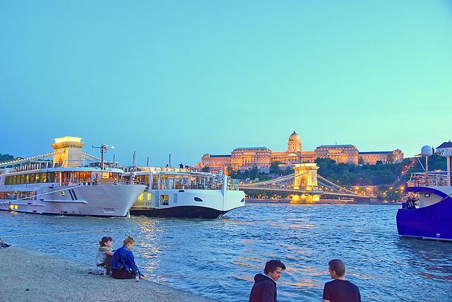 River Danube, Budapest, Hungary.