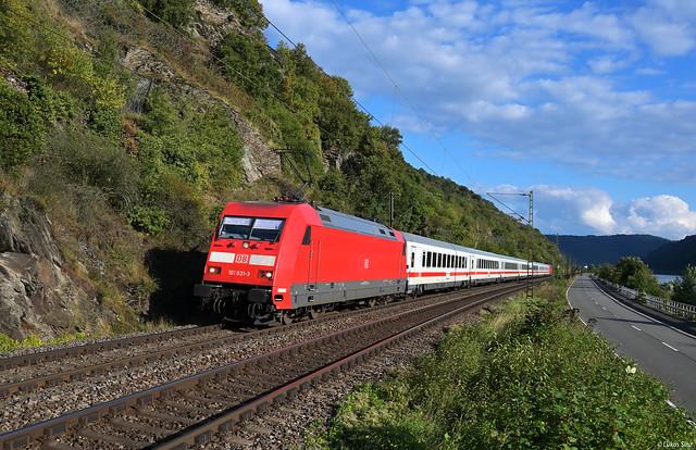 IC Umleiter am Rhein