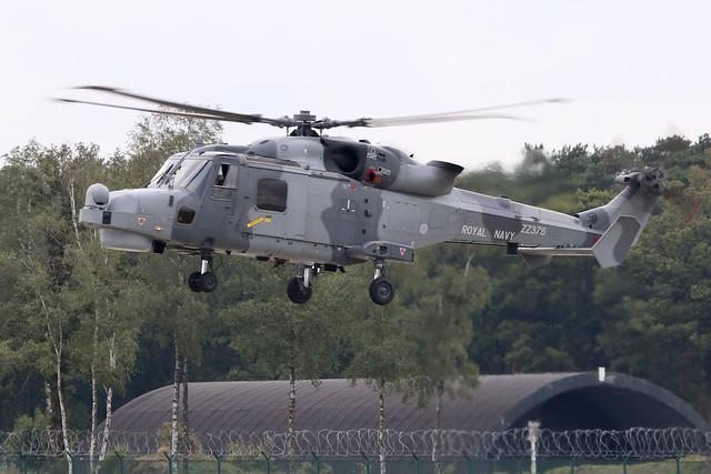 AgustaWestland Wildcat HMA2 ZZ376 UK Navy