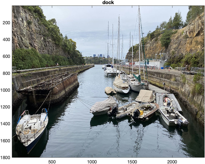 Machine classified dock