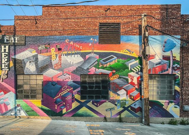 Arts Alliance Tulsa Mural 9/9/21