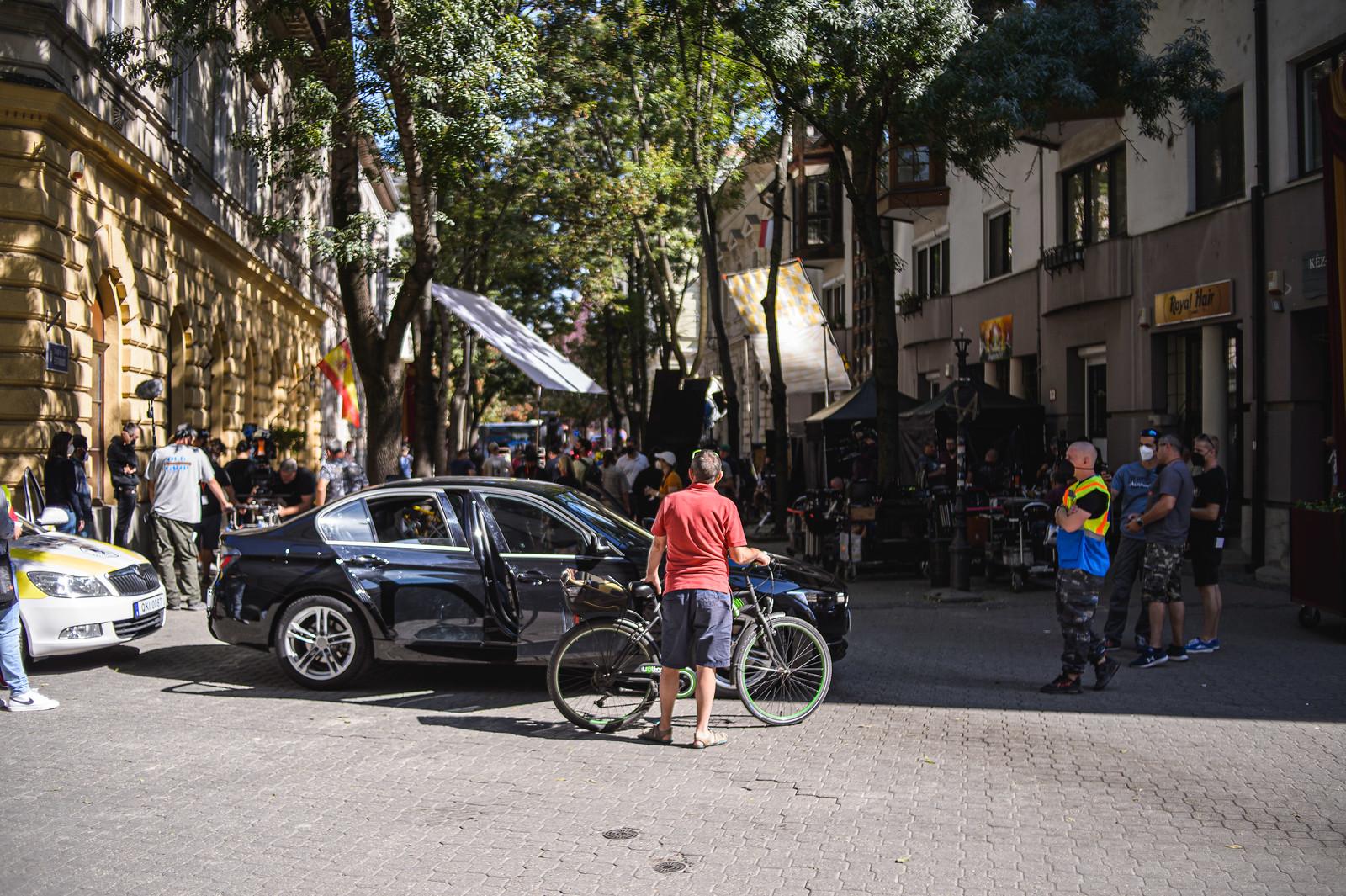 Amerikai bűnügyi krimit forgatnak, Madrid lett a szegedi belvárosból