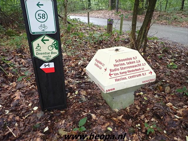 2021-09-11 Bijlen          - Kamp -         - Westerbork -         Station Beilen      32 Km  (28)