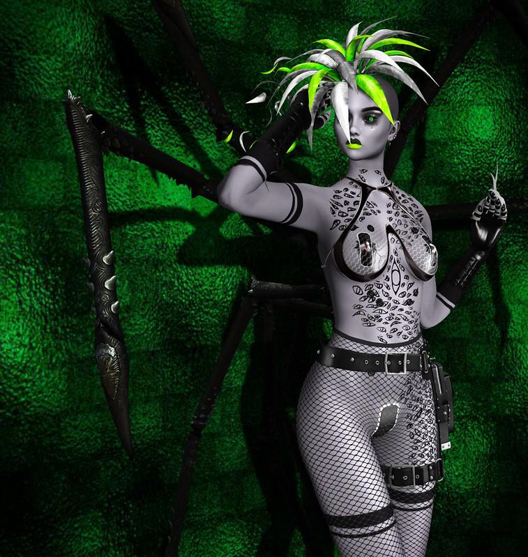 Helena Stringer - SL Syndicate - Spider Plant