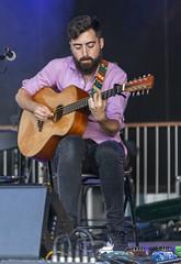 Detalle del guitarra Deira