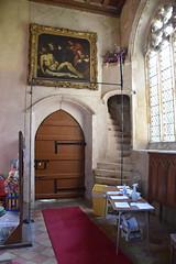 south doorway and parvise stairway