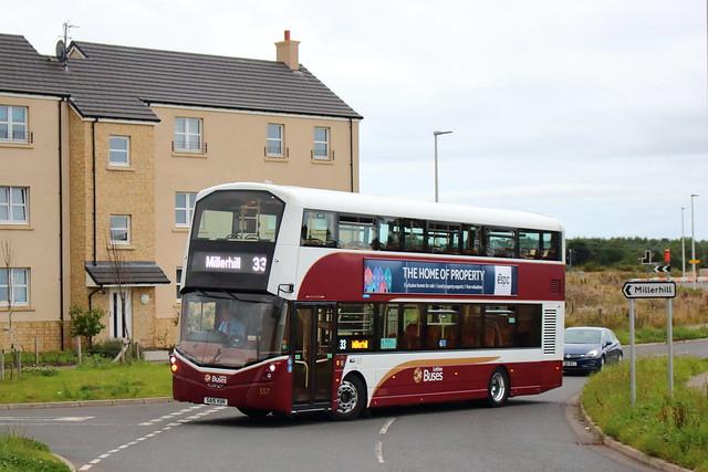557 - SA15 VUH - Lothian Buses