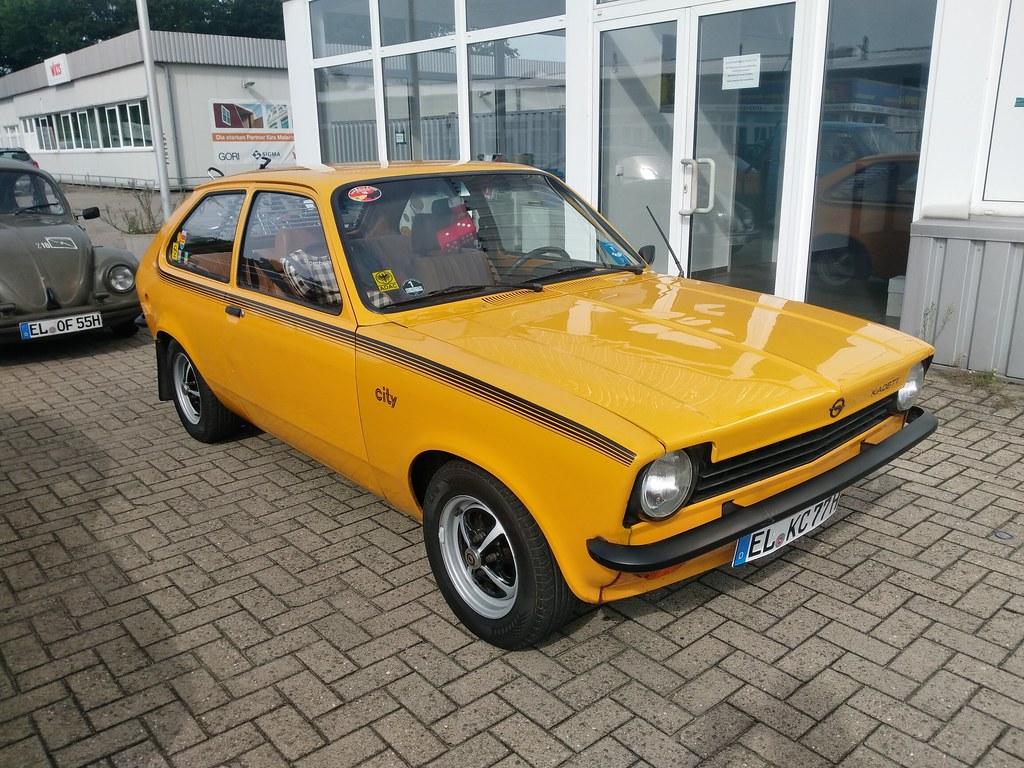 Opel Kadett City         EL KC 77 H                    Kultblechszene Meppen 12.09.2021