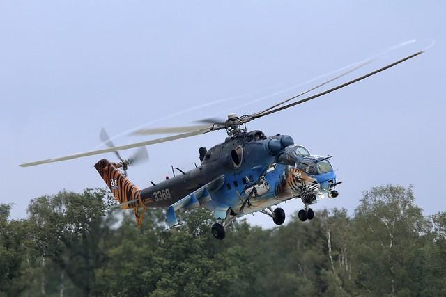 Mil Mi-24V 3369  Czech Republic Air Force