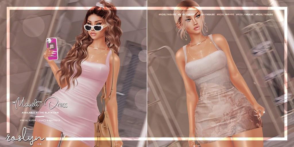 "roslyn. ""Mayeli"" Dress @ Black Fair // GIVEAWAY"