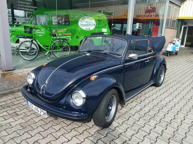Volkswagen Käfer Cabriolet              Kultblechszene Meppen 12.09.2021