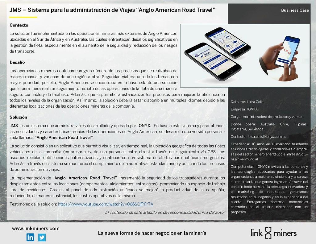 """JMS – Sistema para la administración de Viajes """"Anglo American Road Travel"""""""