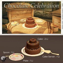 New release : Chocolate Celebration (September Group Gift)
