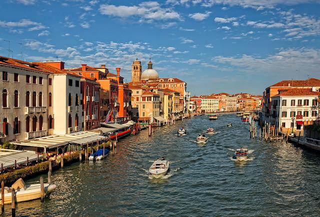 Venice city for photo painters