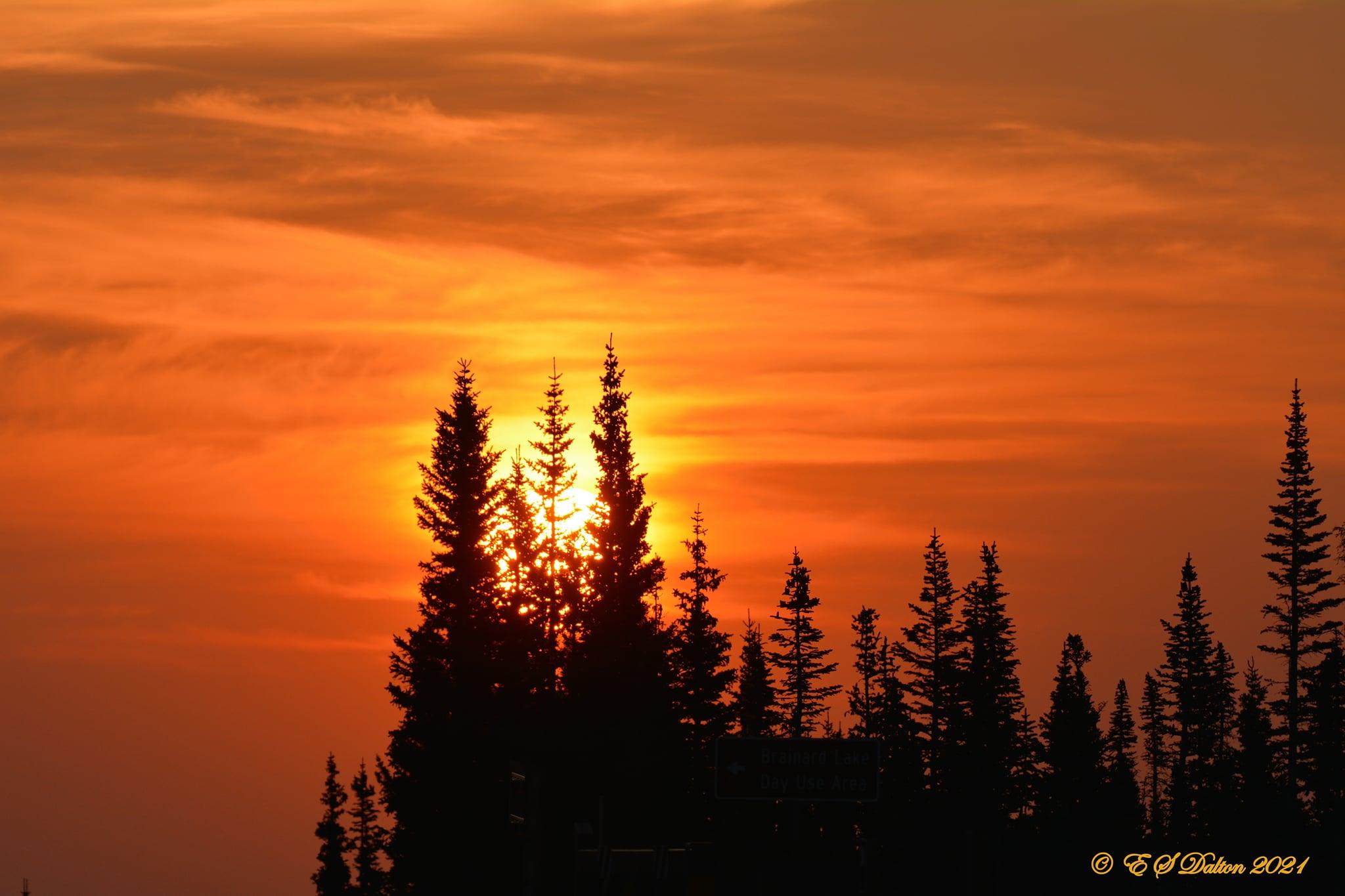 The sun rises in the Colorado high country. (Ed Dalton)