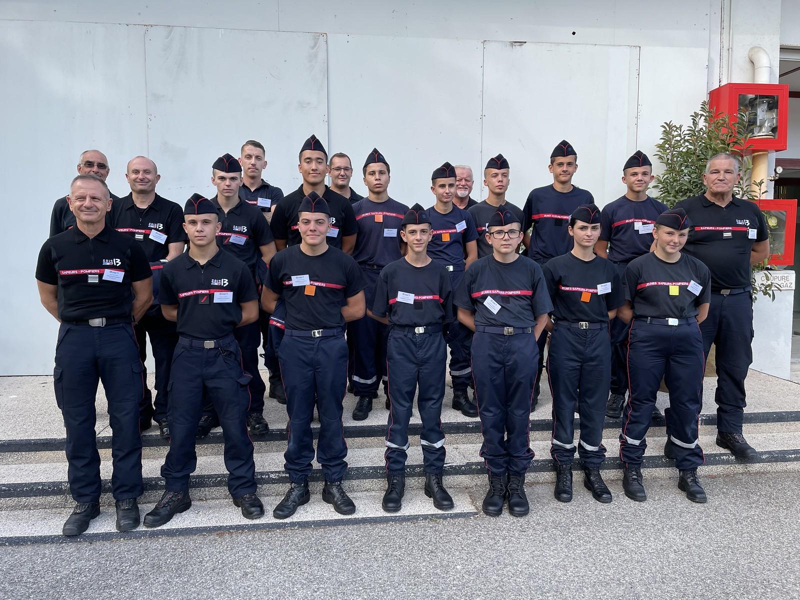 Jeunes sapeurs-pompiers : ils s'engagent pour l'environnement