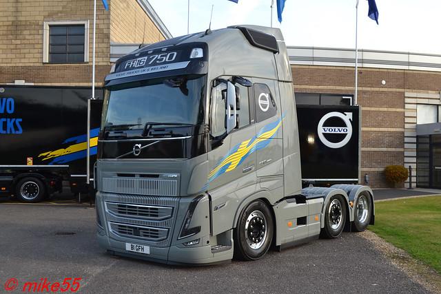 Volvo FH16-750 'Volvo Trucks' reg B1 GFH