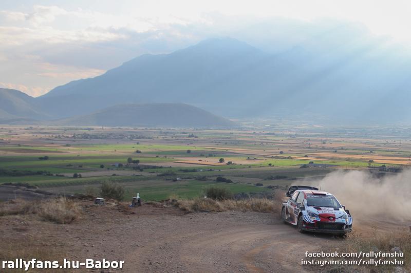 WRC Akropolisz Rally 2021 SS6 Elatia Toyota Yaris WRC