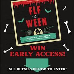 FLF-O-WEEN: Win Early Access!