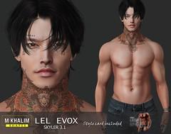 Raijin shape for Lelutka Evox Skyler 3.1