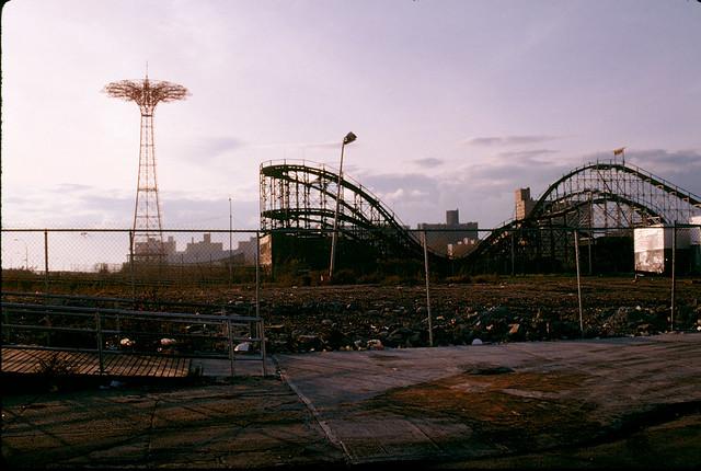 November Coney Island View