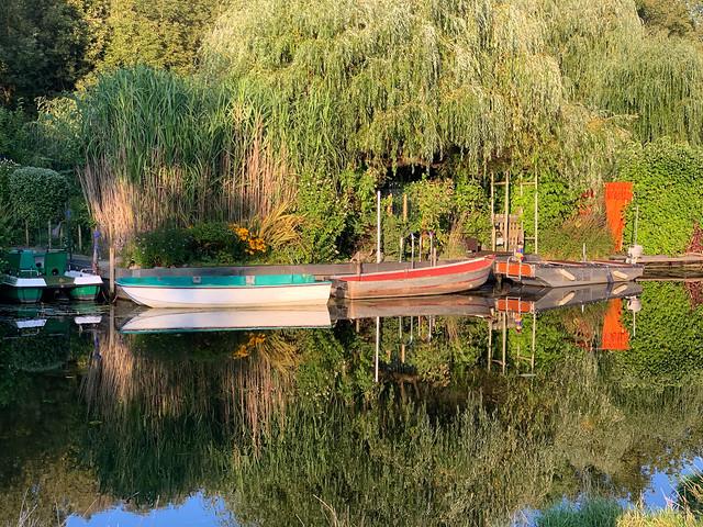 Klein-Venedig in Spandau-Tiefwerder, September 2021