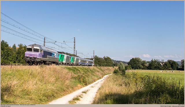 SNCF 72074 @ Marmagne